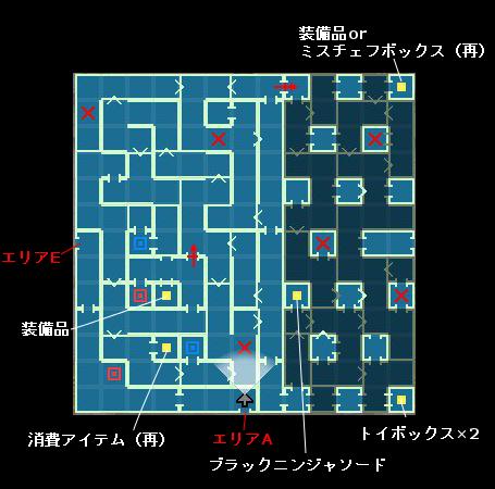 ラップル神殿エリアD-ダンジョントラベラーズ2-2