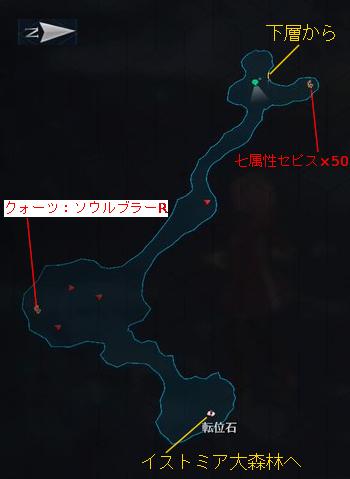 閃の軌跡4 魔の森・南 上層