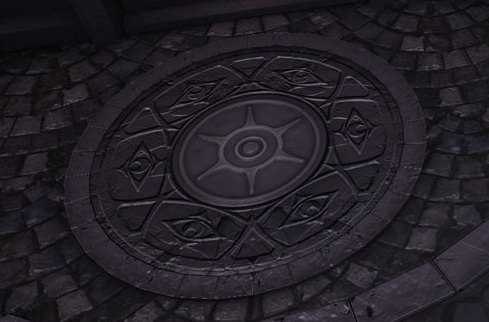 サングラール迷宮・第四相 扉の足元のヒント